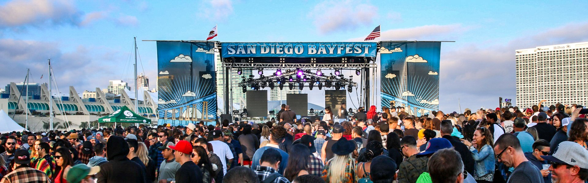 San Diego Bayfest 2019 Embarcadero Park North-Slightly Stoopid,Tribal Seeds,Fortunate Youth,Don Carlos,Hirie,Band Of Gringos