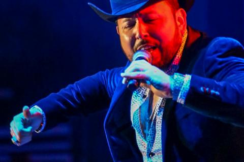 Lights and audio for Roberto Tapia at Boots in the Park Norco, California