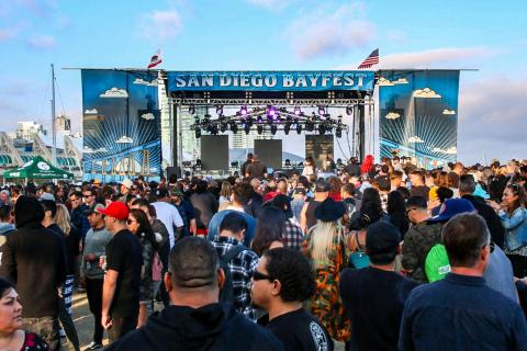 San Diego Bayfest 2019  Embarcdero Park North Slightly Stoopid Tribal Seeds Fortunate Youth Hirie Don Carlos Band of Gringos
