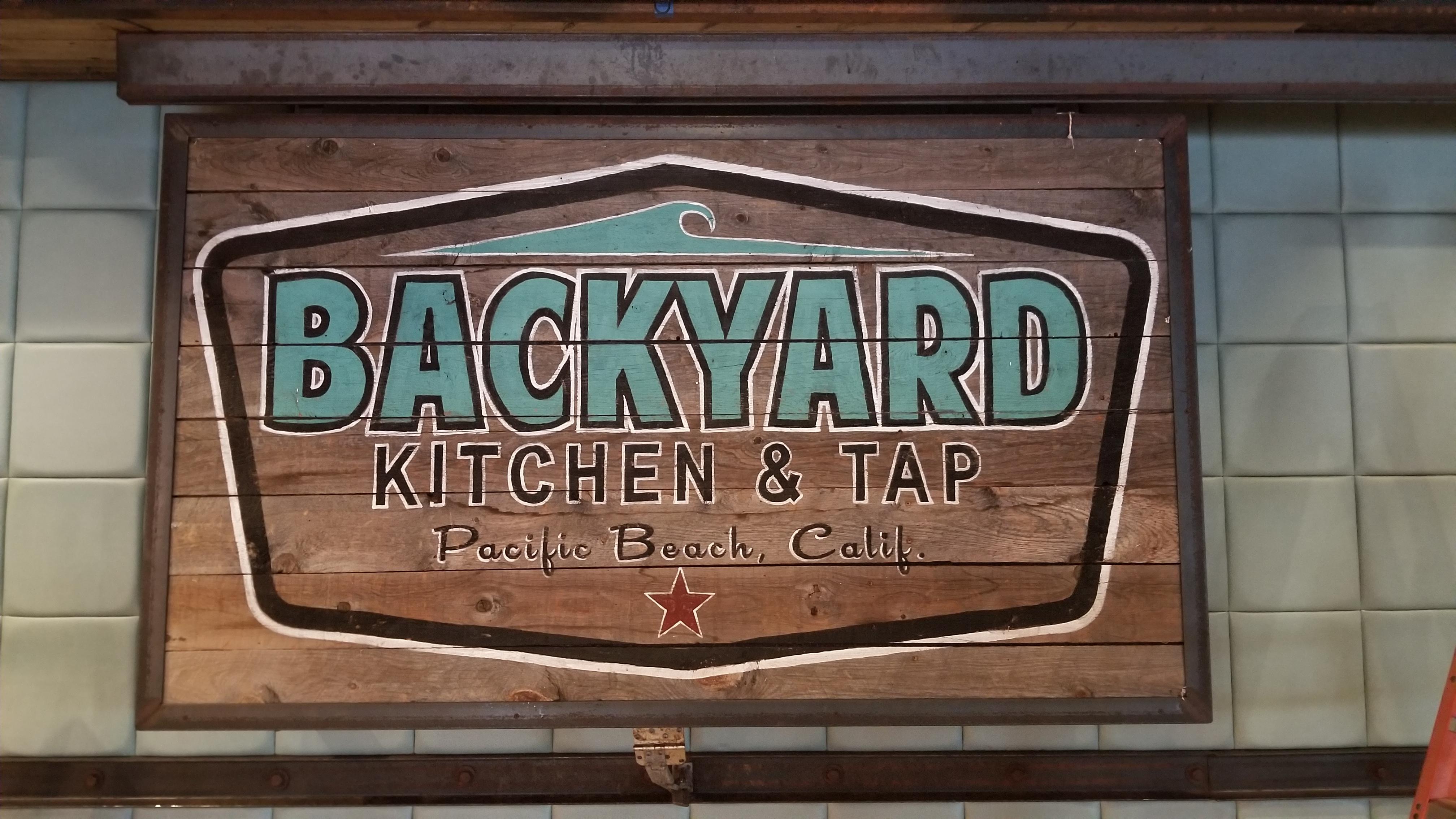 Backyard restuarant audio installation