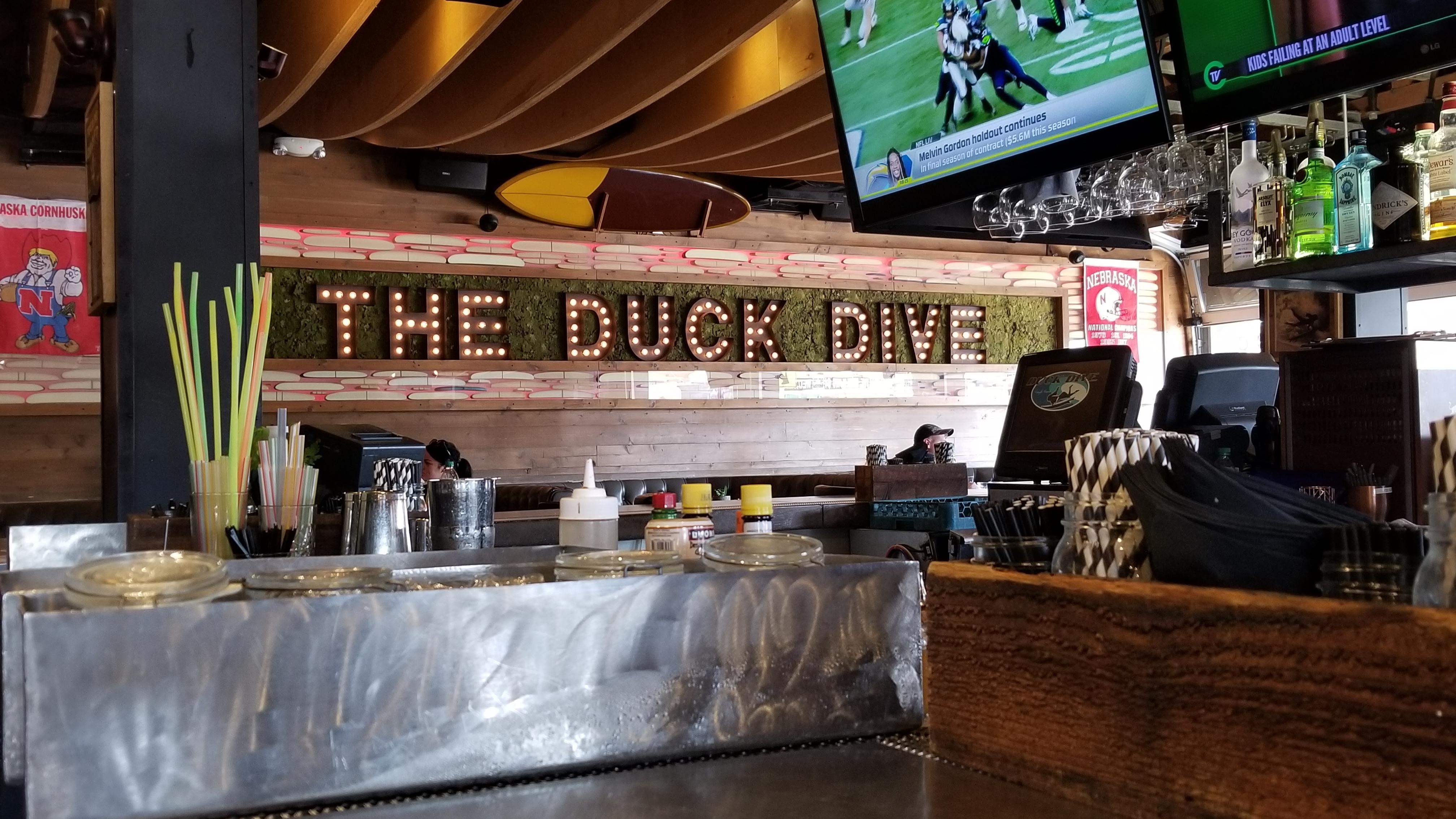 Duck dive restuarant installation