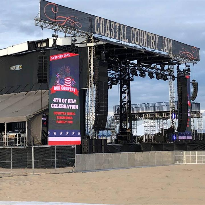 Stage, concert, country music, live event