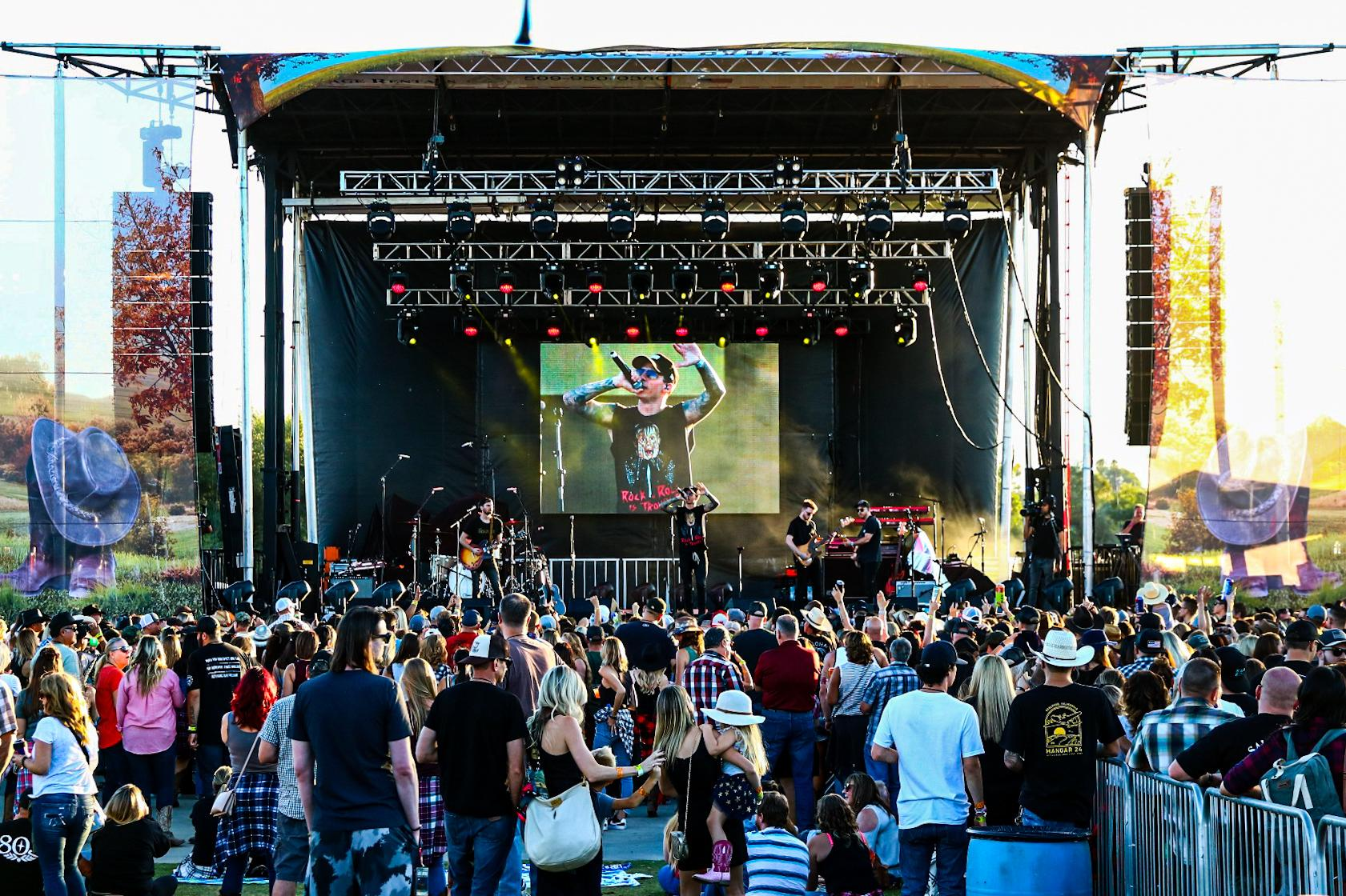 Boots in the Park 2019 Activated Events Pro Systems Av
