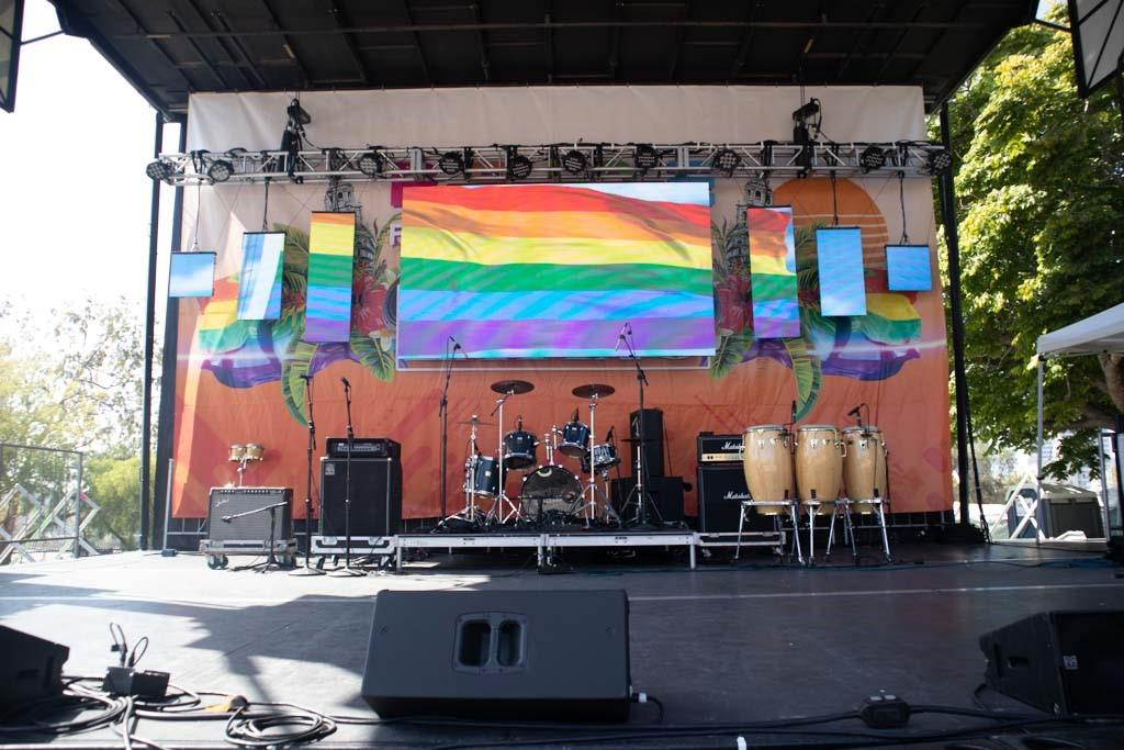 Mundo Latino Stage Pride 2019 San Diego pro Systems Av Production