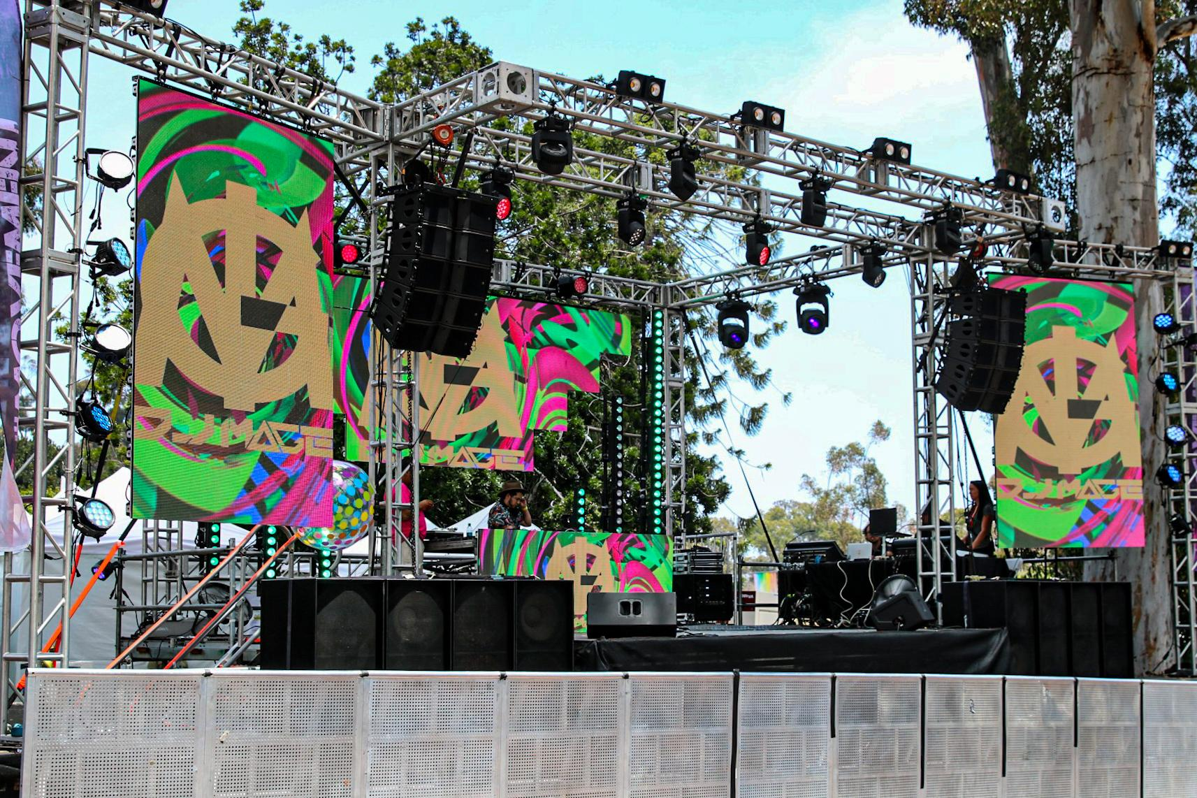 Hip Hop Stage Pride 2019 San Diego Pro Systems Av event Production