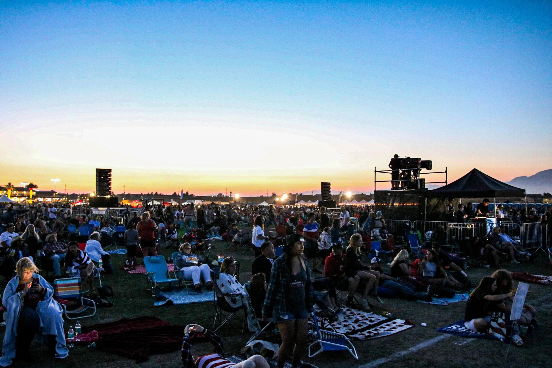 Silverlakes park prosystems av audio visual concert