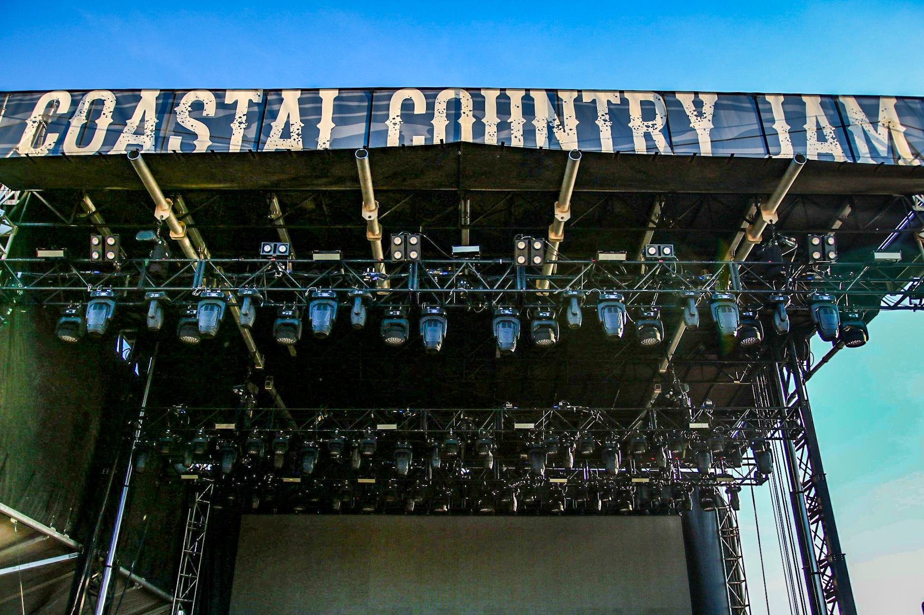 Chauvet robe elation stage country