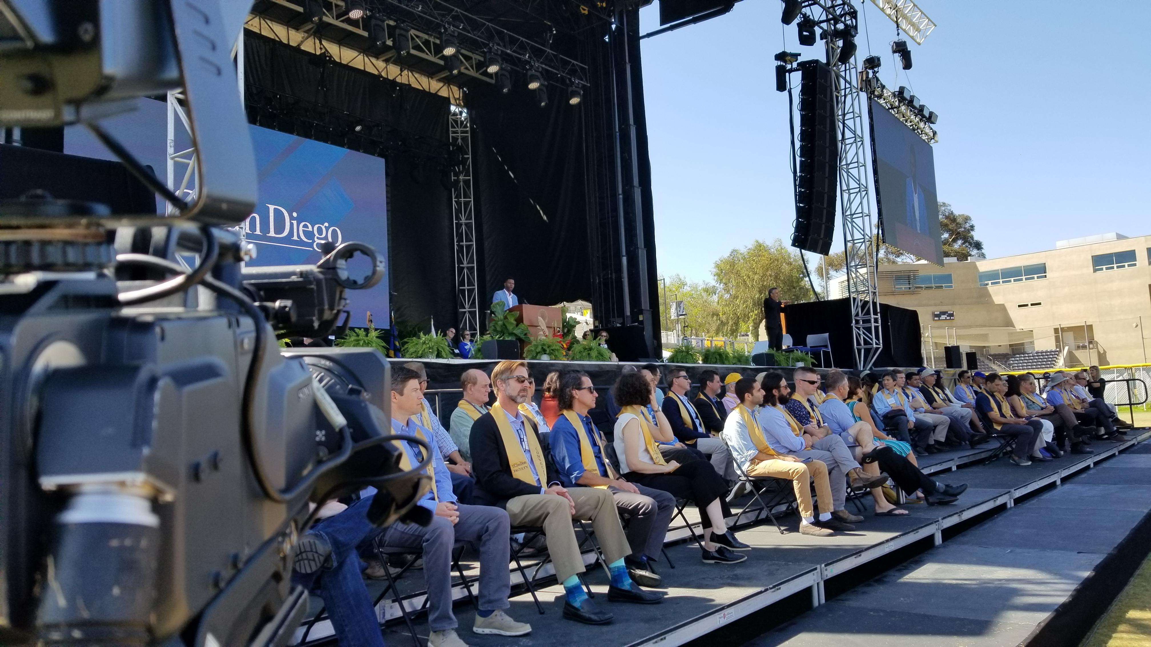 Ucsd Convocation production 2019