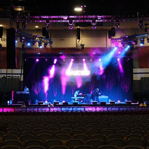 Concert Audio lighting video San Diego California