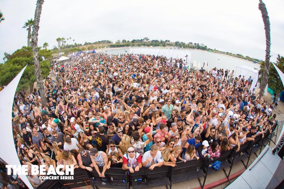 Orange Country Beach Festival sound & lighting