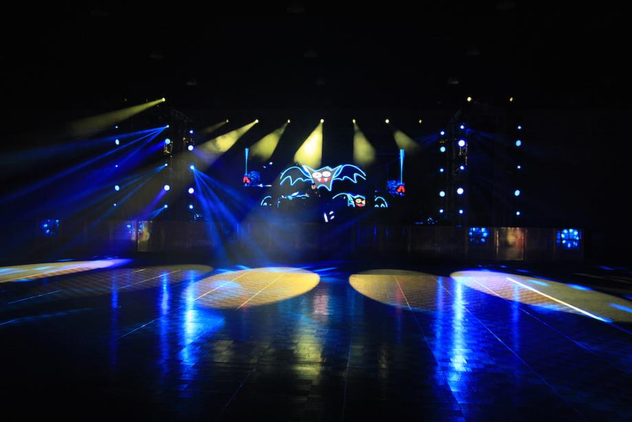 Lighting, Audio and LED video