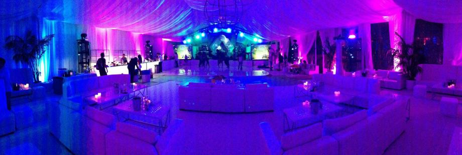 private party audio lighting