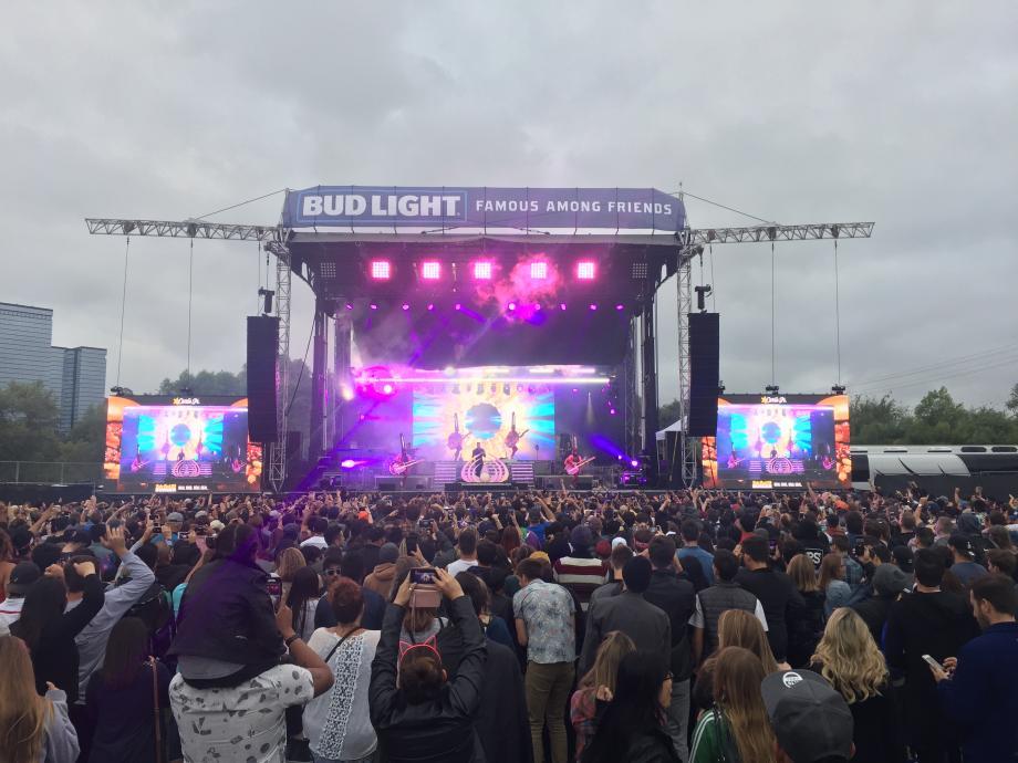 concert audio lighting