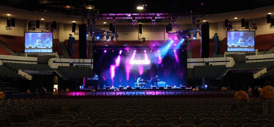 Concert Audio lighting video San Diego California